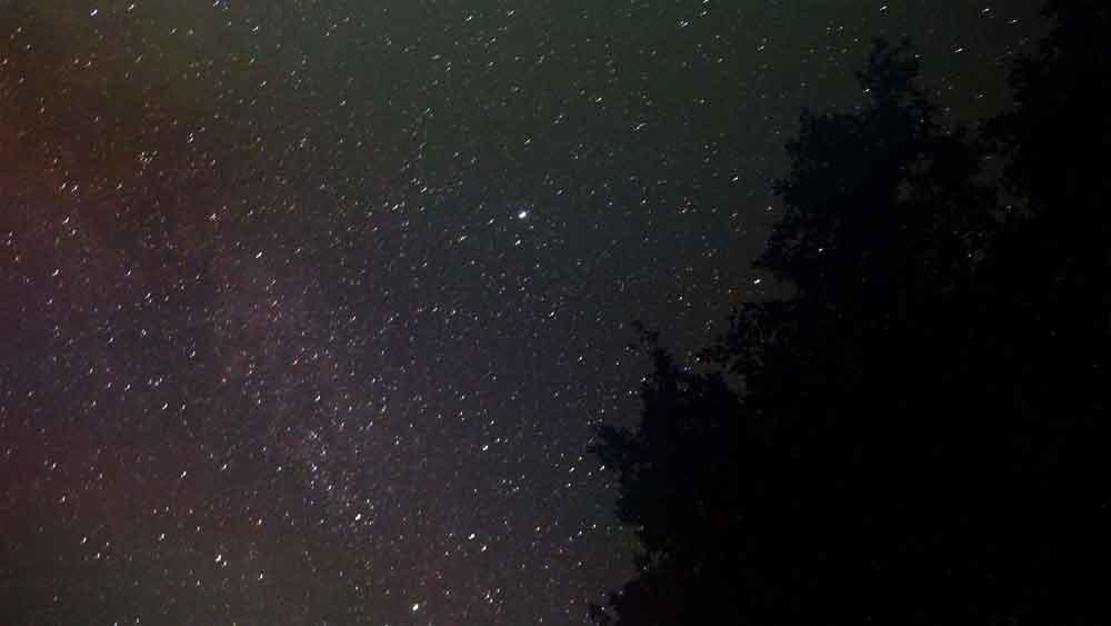 星景写真例