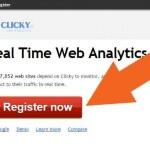リアルタイムアクセス解析、「Clicky」