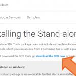 WindowsにAndroid SDKのADB/Fastbootをインストールする方法