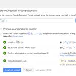 Google Domainsへドメイン移管してみた