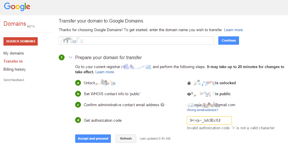 Google-Domain-transfer