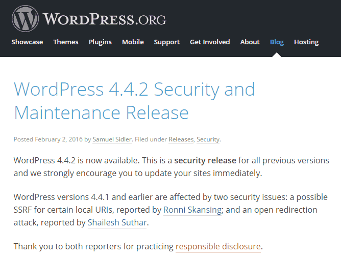 WordPress442-security-release