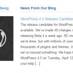 WordPress 4.5.0は2016年4月12日予定