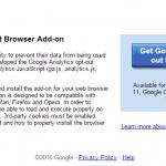 自分のサイト巡回・フロントエンド編集の必需品、Google Analytics Opt-Out