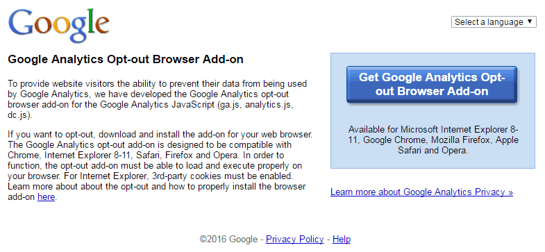 Google-analytics-opt-out