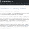 WordPressにXSS脆弱性、4.5.2セキュリティリリース