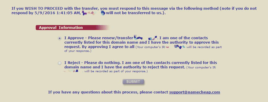 namecheap-transfer-confirmation