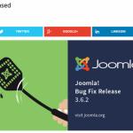 Joomla!バグフィックスパッチ 3.6.1&3.6.2