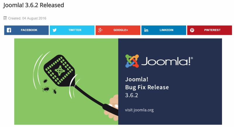Joomla! 3.6.2