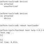 Fastboot/ADBの使い方、トラブルシューティング