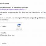 Search Consoleのクロール要請制限数が変わった
