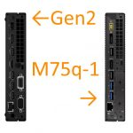 LenovoのAMD Ryzen搭載PC、M75q-1